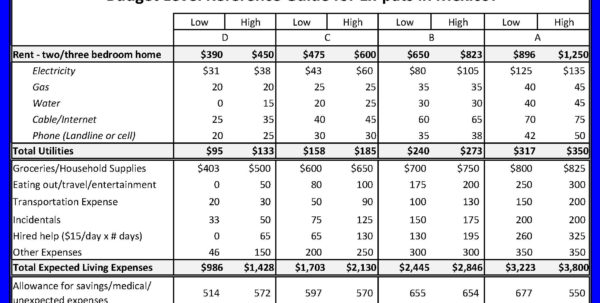 Cost Of Living Spreadsheet Intended For Cost Of Living Spreadsheet New Spreadsheet App Google Spreadsheets