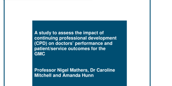Cpd Recording Spreadsheet In Pdf A Study To Assess The Impact Of Continuing Professional