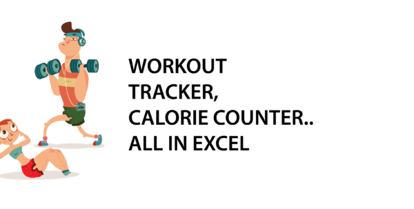 Cpd Recording Spreadsheet Throughout Workout Tracker, Calorie Counter…all In Excel  Excel With Business