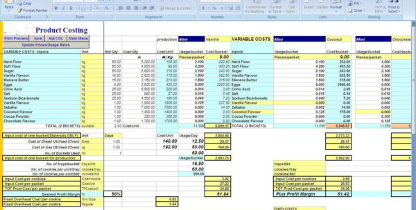 Craft Pricing Spreadsheet Pertaining To Brewery Cost Spreadsheet Examples Mbm4 Pii Make Money Selling