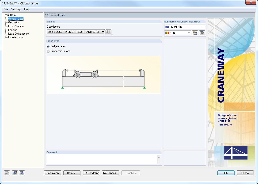 Crane Beam Design Spreadsheet For Craneway: Craneway Girder Design Acc. To Eurocode 3  Dlubal Software