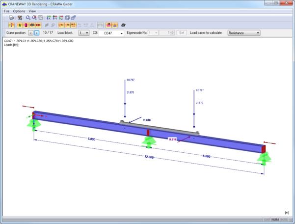 Crane Beam Design Spreadsheet Pertaining To Craneway: Craneway Girder Design Acc. To Eurocode 3  Dlubal Software