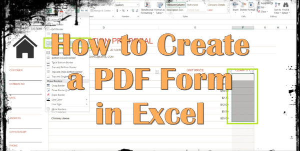 Create A Form From Excel Spreadsheet For Form Templates Maxresdefault How To Create In Beautiful A Excel 2016