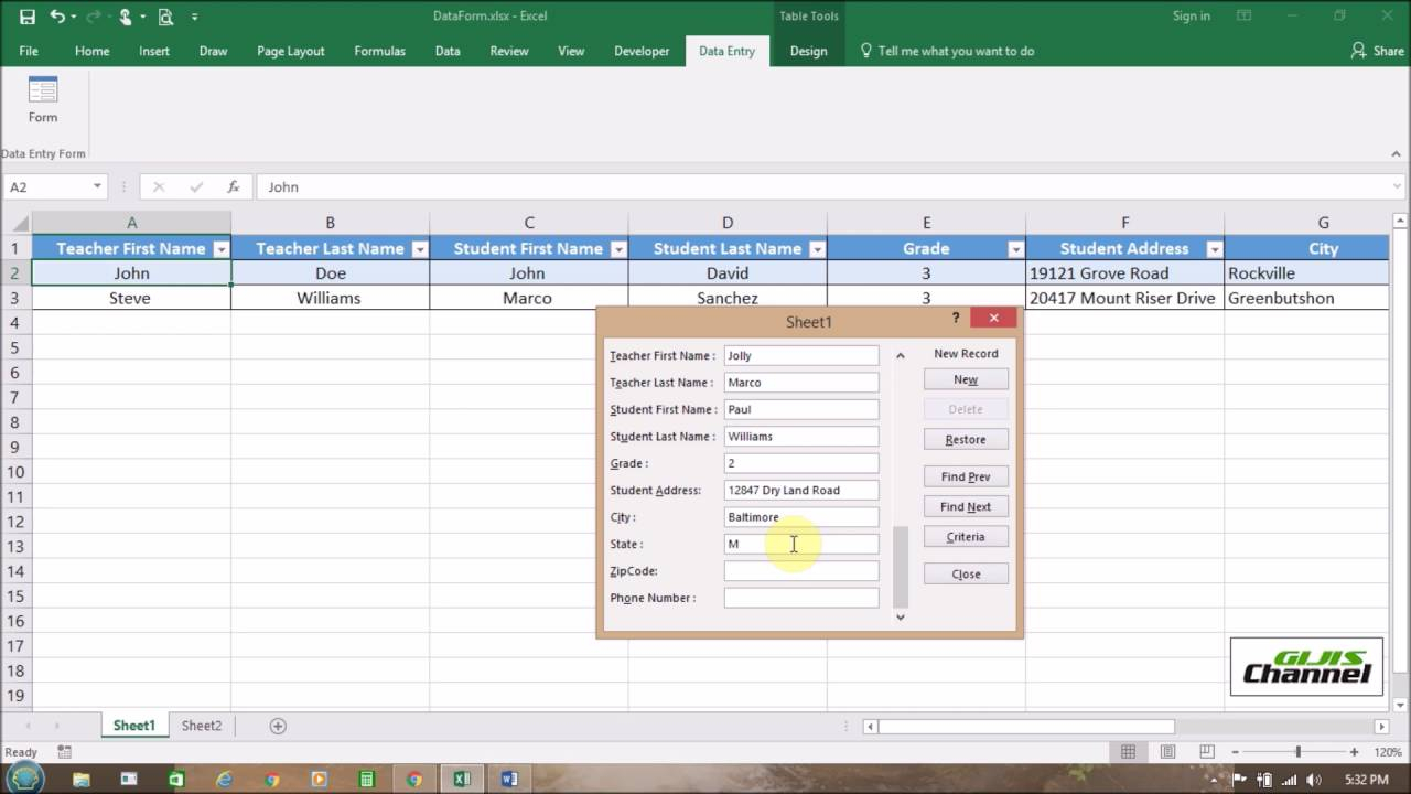 Create A Form From Excel Spreadsheet Throughout Create A Form From Excel Spreadsheet  Aljererlotgd