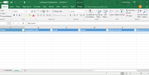 Create A Form From Excel Spreadsheet Throughout Use Microsoft Forms To Collect Data Right Into Your Excel File