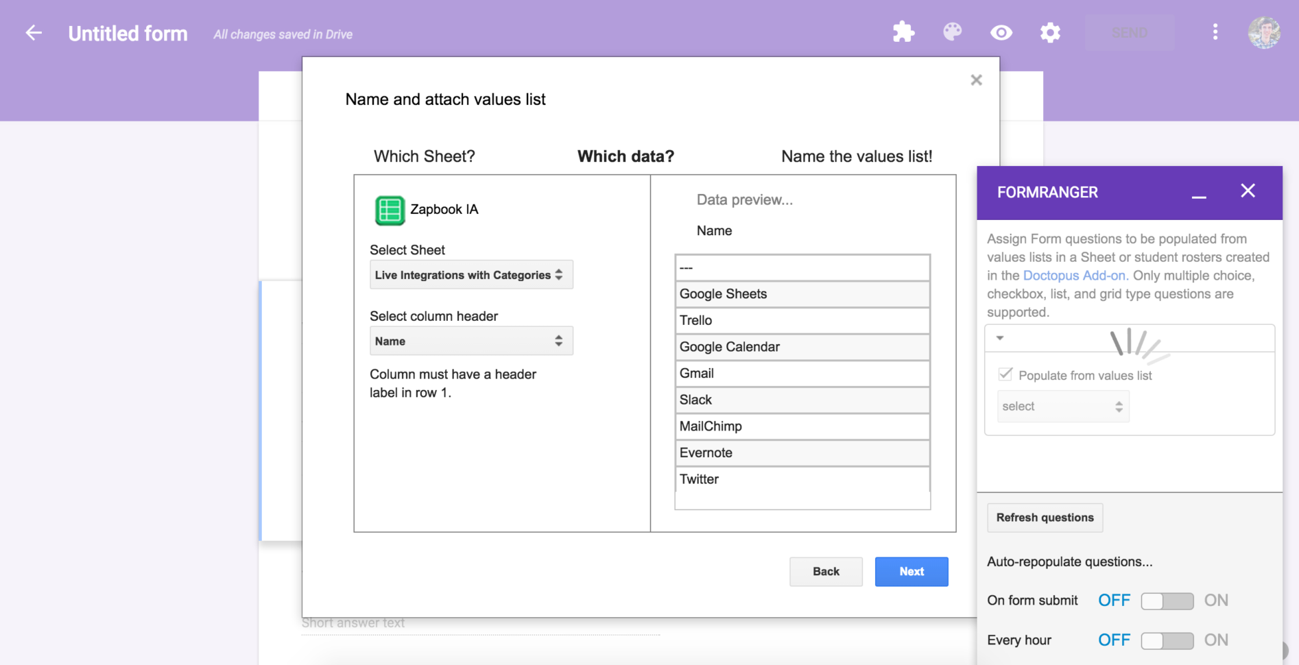 Create A Form That Populates A Spreadsheet Pertaining To Google Forms Guide: Everything You Need To Make Great Forms For Free