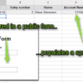 Create A Form That Populates A Spreadsheet Within Four Skills That Will Turn You Into A Spreadsheet Ninja