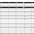 Create A Spreadsheet For Bills With Free Budget Templates In Excel For Any Use