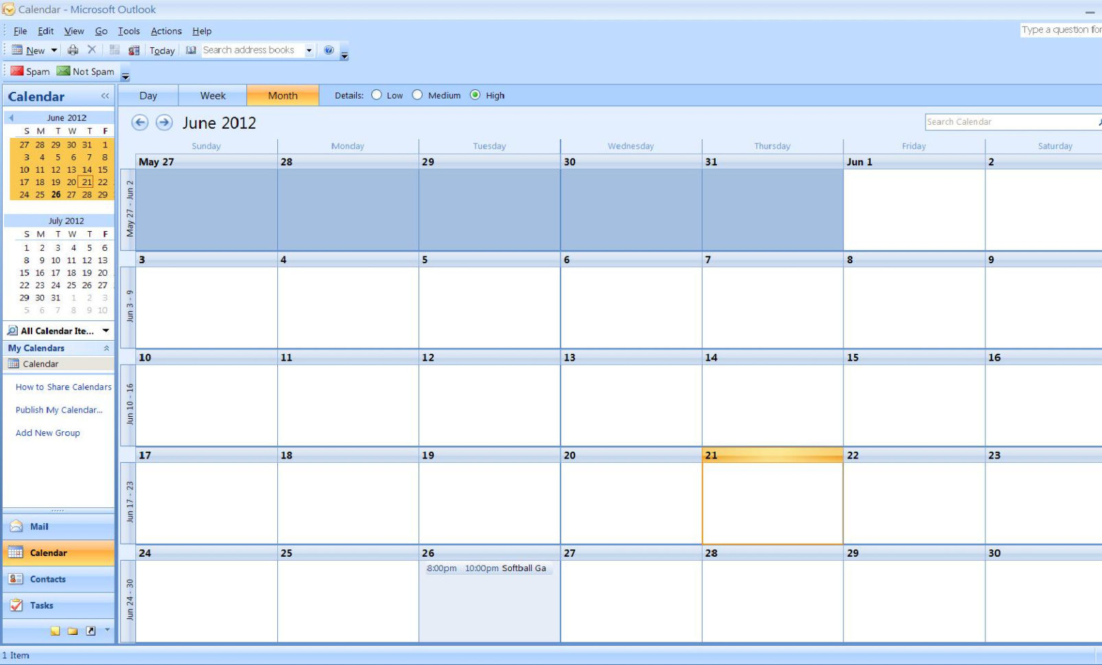 Create Calendar From Excel Spreadsheet Data Inside How To Import A Calendar From Excel To Outlook  Turbofuture
