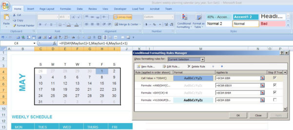 Create Calendar From Excel Spreadsheet Data With Dynamic Monthly Excel Calendar  Super User