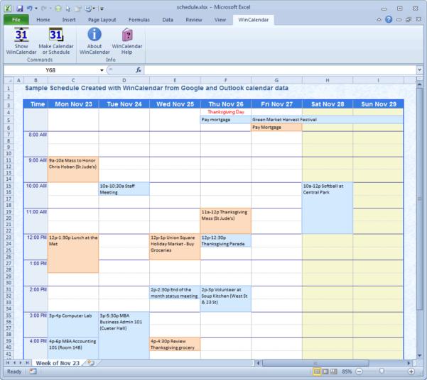 Create Calendar From Excel Spreadsheet Data Within Wincalendar: Excel Calendar Creator With Holidays