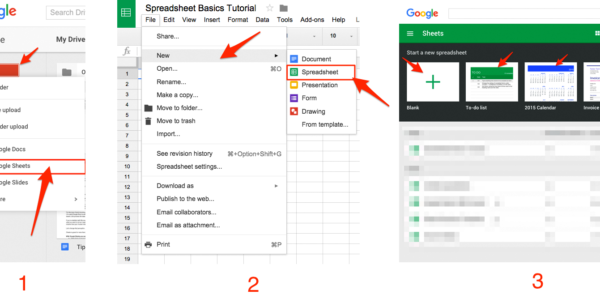 Create Excel Spreadsheet With Google Sheets 101: The Beginner's Guide To Online Spreadsheets  The