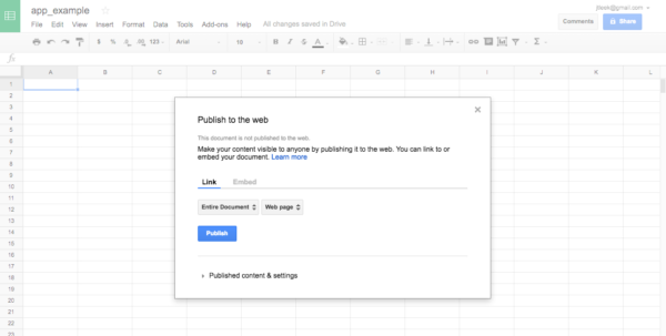 """Create Google Spreadsheet For How To Create A Free Distributed Data Collection """"app"""" With R And"""
