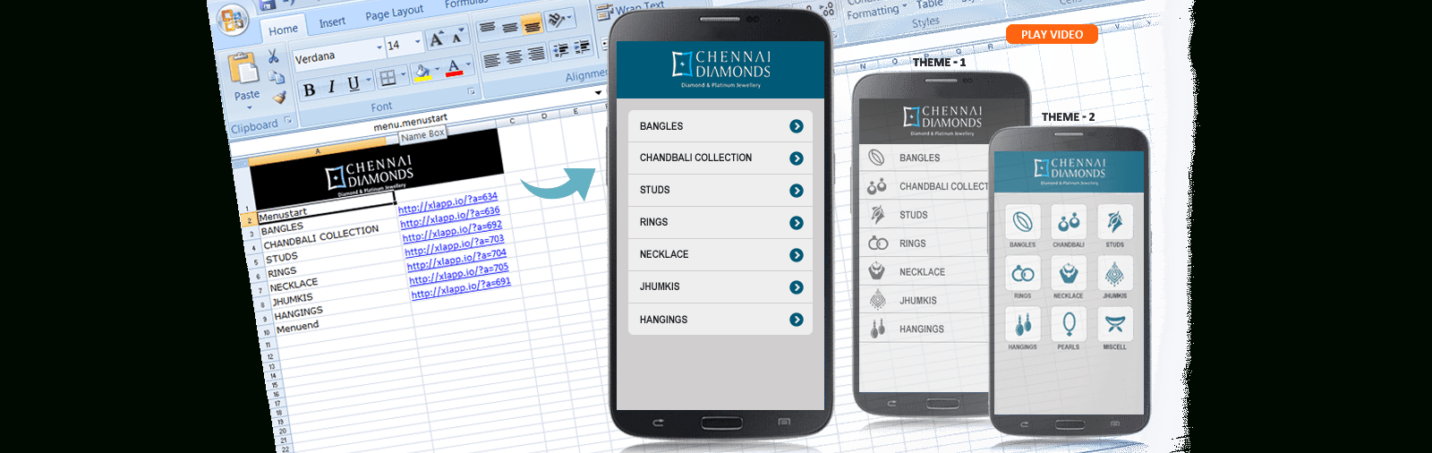 Create Iphone App From Excel Spreadsheet Intended For Convert Excel To Android App  Xlapp