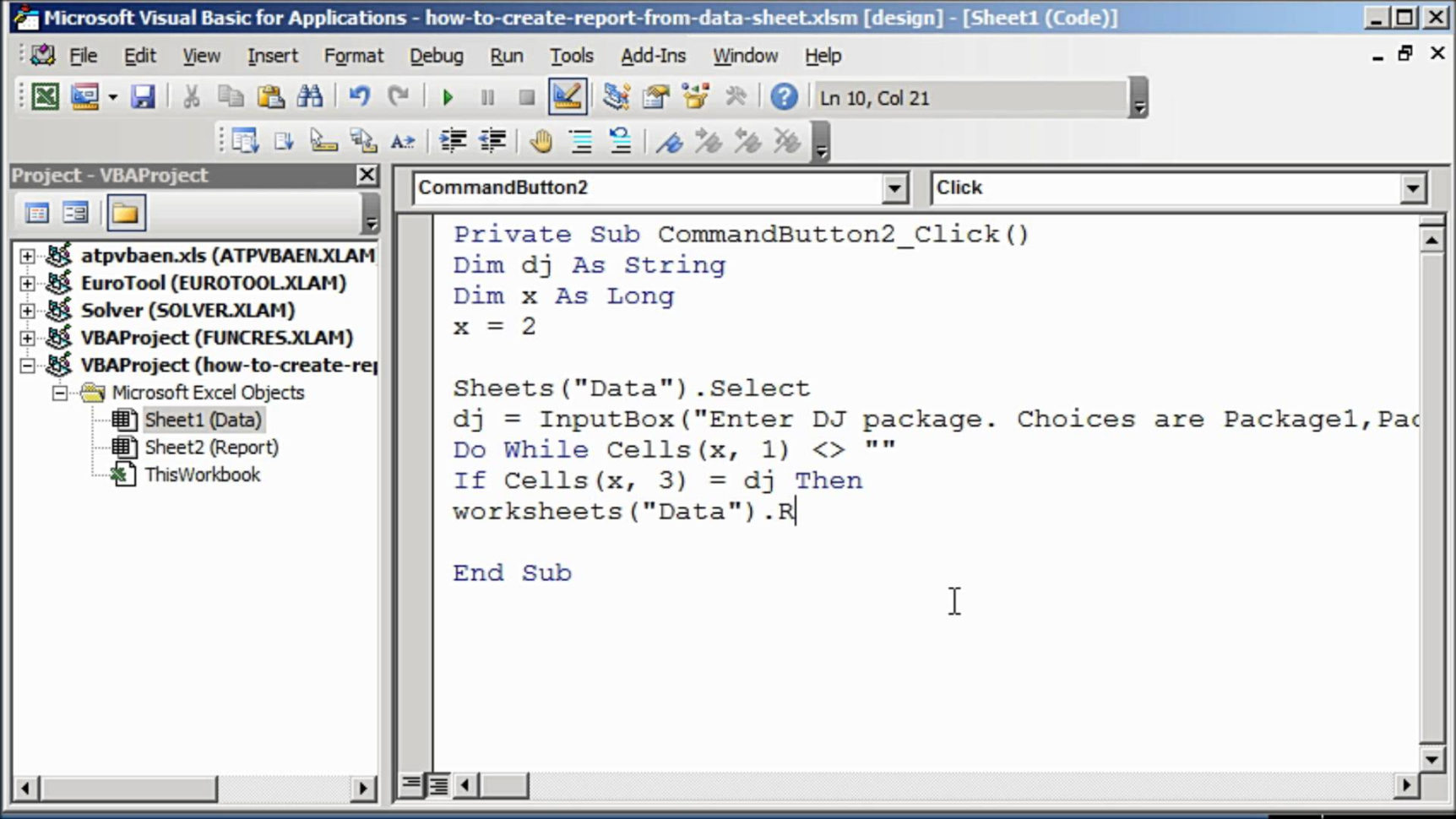Create Report From Excel Spreadsheet 2010 With Regard To Generateport From Excel Spreadsheet Create Data Using Vba Pdf