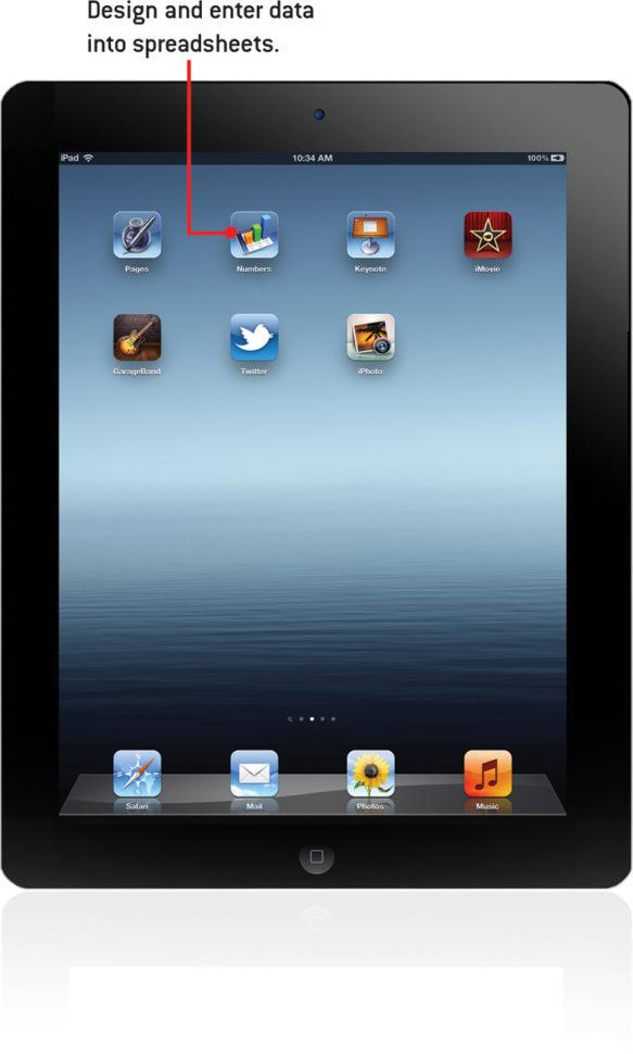 Create Spreadsheet On Ipad With Regard To 12. Spreadsheets With Numbers  My Ipad® Covers Ios 5.1 On Ipad