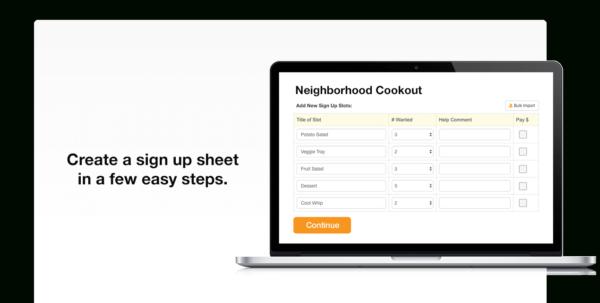 Create Spreadsheet Online Free Throughout Online Signup Sheet  Kasare.annafora.co