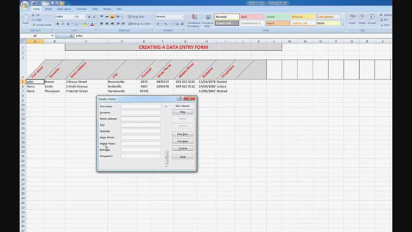 Create Web Form From Excel Spreadsheet Pertaining To 12 Common Mistakes Everyone Makes In Create  Form Information