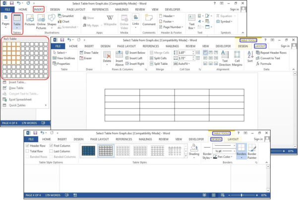 Creating A Spreadsheet In Word In How To Create Tables In Microsoft Word  Pcworld