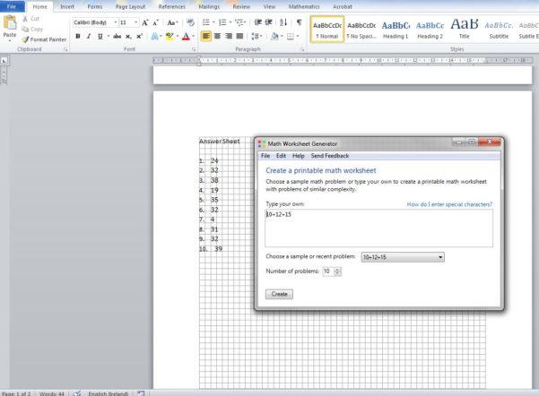 Creating A Spreadsheet In Word With Worksheet Microsoft Word  Saowen