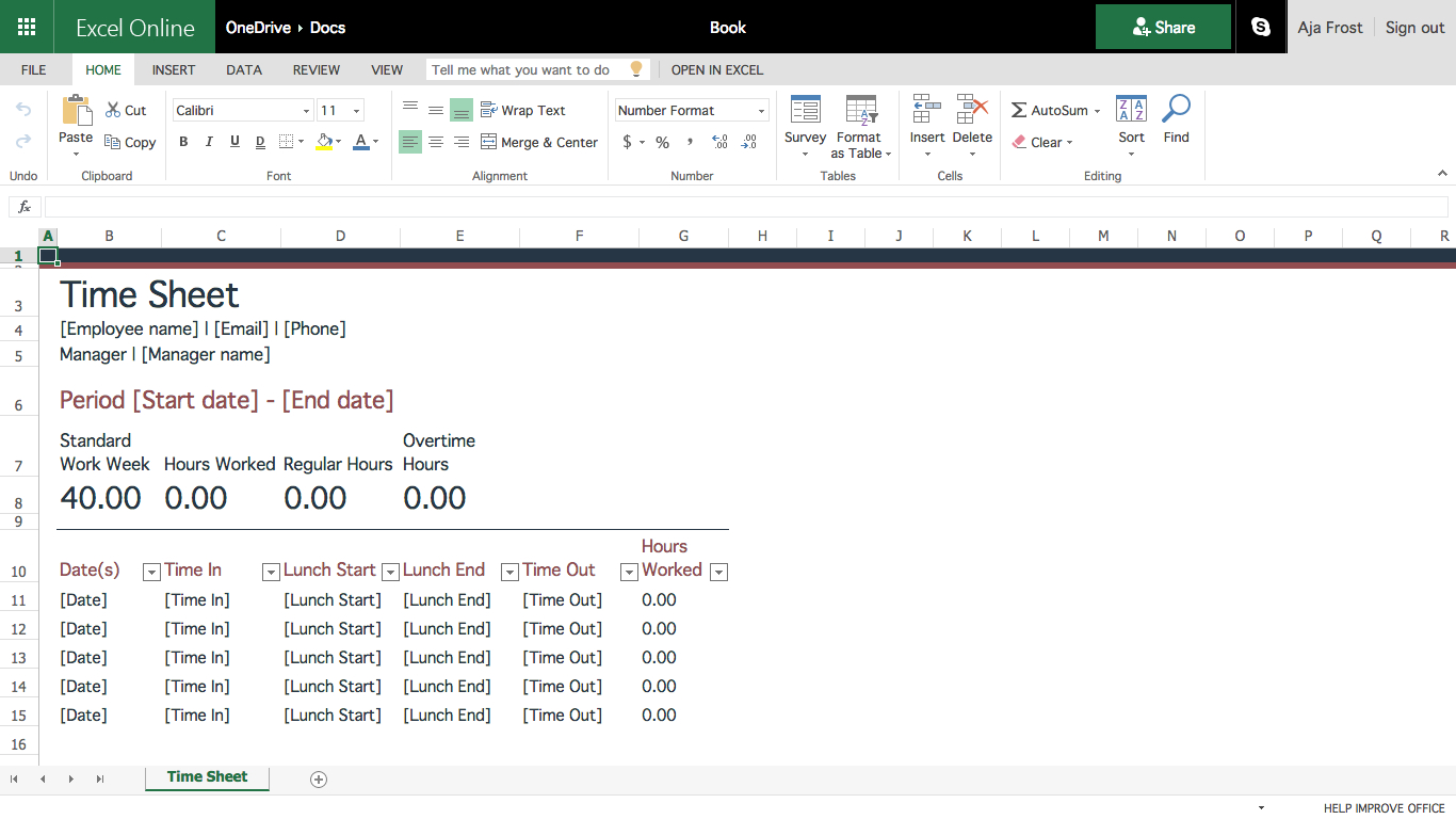 Creating Excel Spreadsheet Templates With How To Create Effective Document Templates