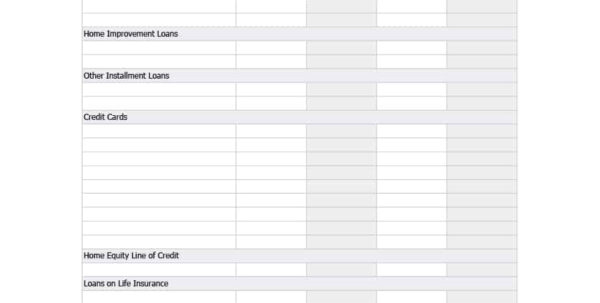 Credit Card Payment Spreadsheet Pertaining To 38 Debt Snowball Spreadsheets, Forms  Calculators ❄❄❄