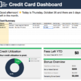 Credit Card Payment Tracking Spreadsheet For The Tsd Credit Card Tracker