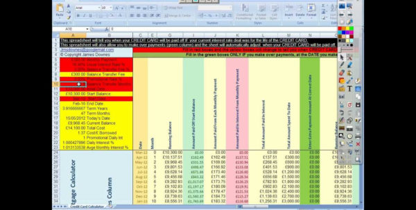 Credit Card Payment Tracking Spreadsheet Regarding Credit Card Payment Tracking Spreadsheet Expense Debt Monthly