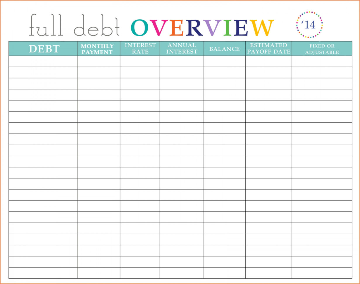 Credit Snowball Spreadsheet With Regard To Free Debt Snowball Spreadsheet  My Spreadsheet Templates