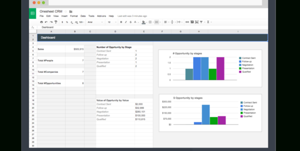 Crm Spreadsheet Template With Spreadsheet Crm