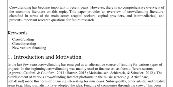 Crowdfunding Comparison Spreadsheet Intended For Pdf Approach For Investigating Crowdfunding Campaigns With Platform