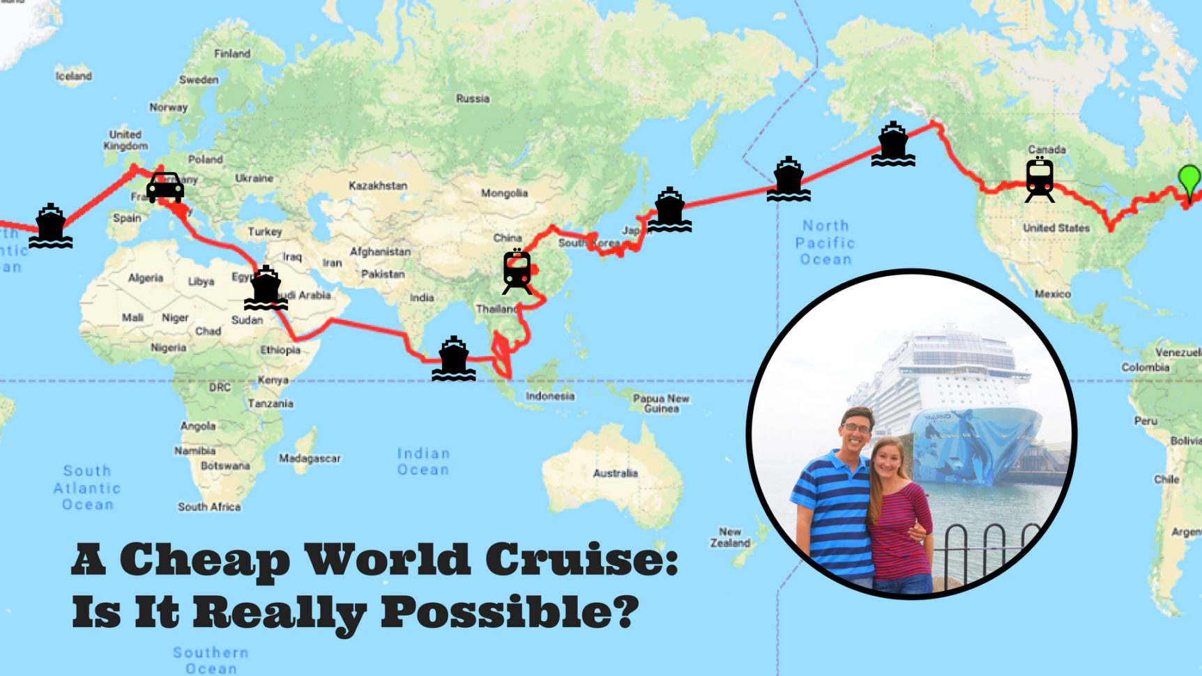Cruise Budget Spreadsheet In A Cheap World Cruise? How We Used A Travel Trick To Afford The Voyage