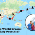 Cruise Planning Spreadsheet Pertaining To A Cheap World Cruise? How We Used A Travel Trick To Afford The Voyage