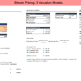 Cryptocurrency Excel Spreadsheet With Regard To I Built These 3 Fundamental Valuation Models For Bitcoin In Excel