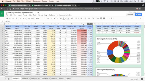 Cryptocurrency Trading Spreadsheet Inside Cryptocurrency Trading Spreadsheet – Spreadsheet Collections