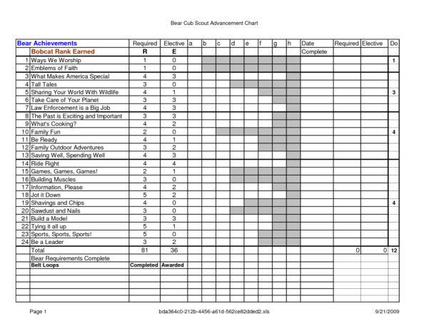Cub Scout Treasurer Spreadsheet Intended For Boy Scout Budget Worksheet Bsa Rank Advancement Worksheets Troop