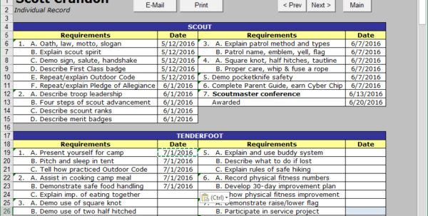 Cub Scout Treasurer Spreadsheet Intended For Cub Scout Treasurer Spreadsheet 2018 Excel Spreadsheet Templates How