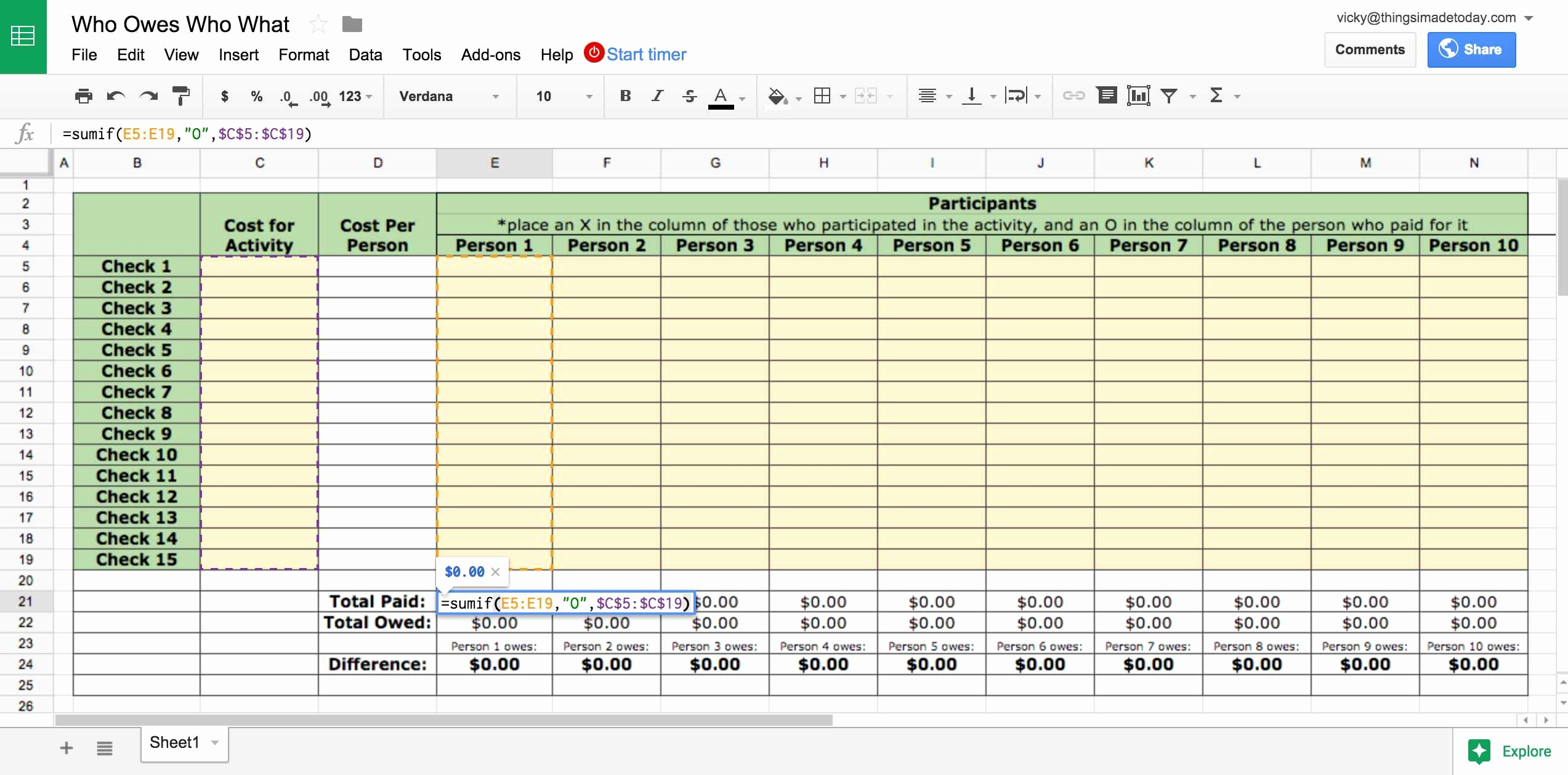 Culinary Spreadsheets Inside Food Product Cost  Pricing Spreadsheet Free 2018 How To Make An