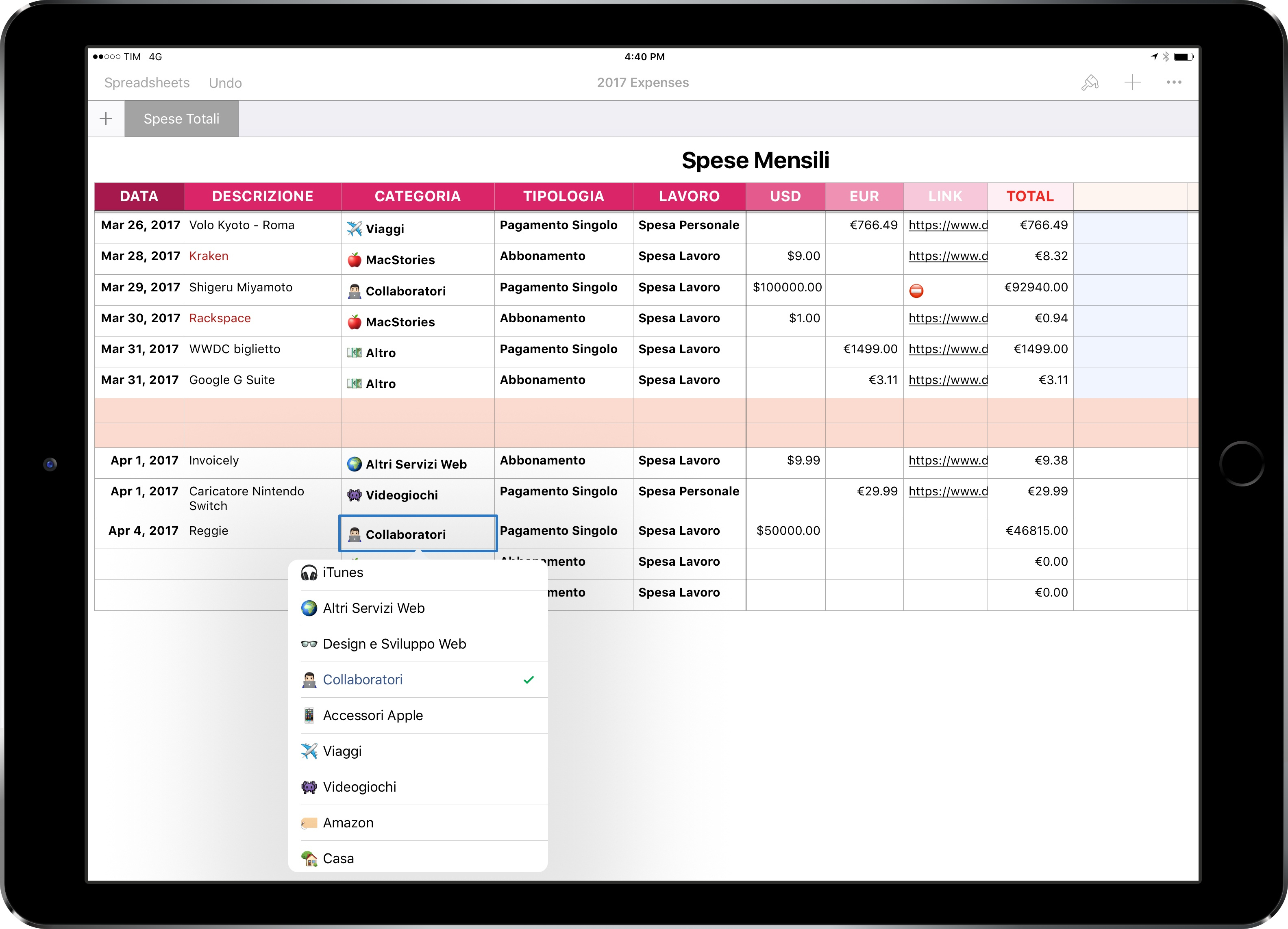 Currency Exchange Spreadsheet Regarding Ipad Diaries: Numbers, Accounting, And Currency Conversions – Macstories