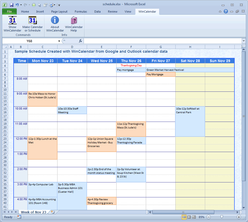 Custom Excel Spreadsheet Creation Within Wincalendar: Excel Calendar Creator With Holidays