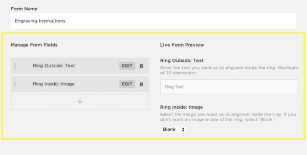 Custom Spreadsheet Services Within Creating A Custom Product Form – Squarespace Help