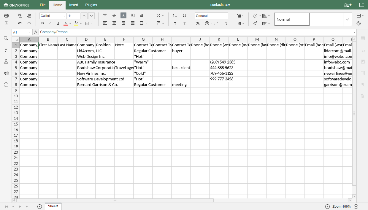 Customer Database Spreadsheet Within How To Export Your Crm Customer Database And Edit It Using