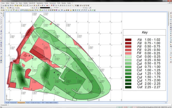 Cut And Fill Excel Spreadsheet In Calculate Cut And Fill Volume, Retention Basin Calculation  Geomensura