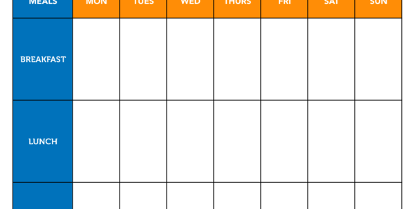 Cycling Training Plan Spreadsheet With Regard To Be A Master Meal Planner With This Template!  Myfitnesspal