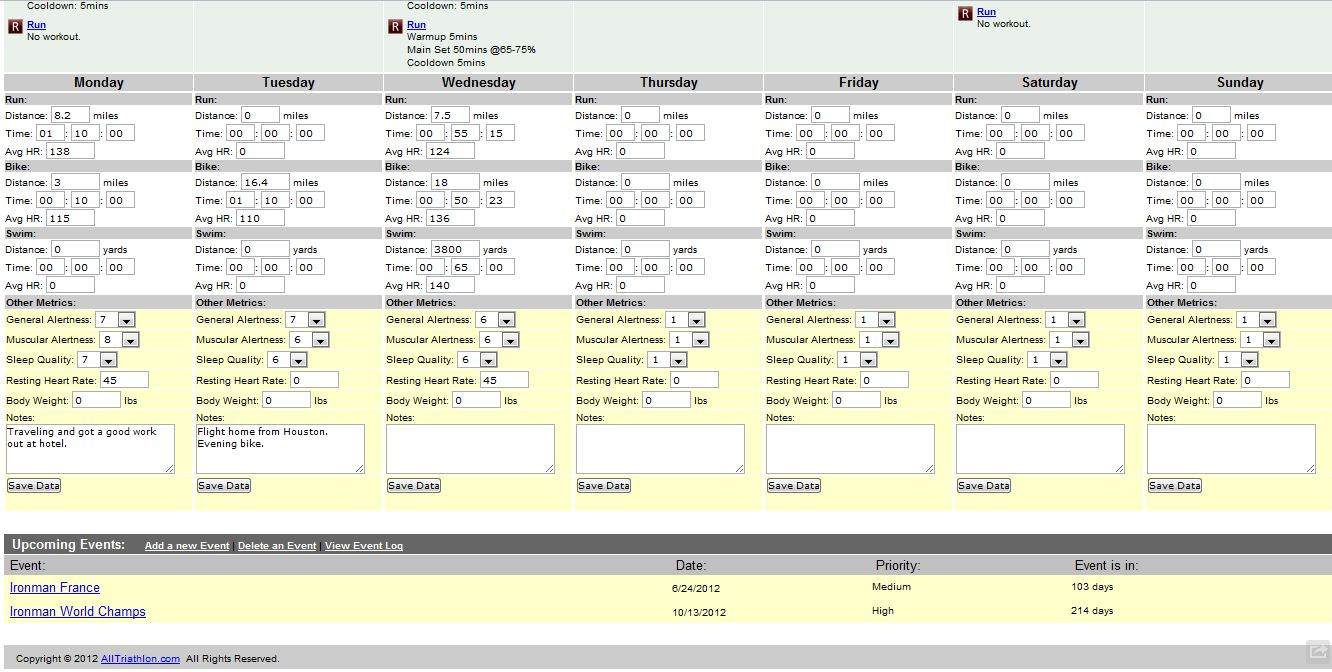 Cycling Training Plan Spreadsheet Within Cycling  Practical Triathlon  Page 2