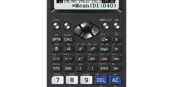 D1 Stack Height Calculation Spreadsheet Intended For Casio Classwiz Fx991Ex Scientific Calculator  J. Thayer Company