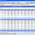 Daily Budget Excel Spreadsheet For Household Expenses  Excel Templates