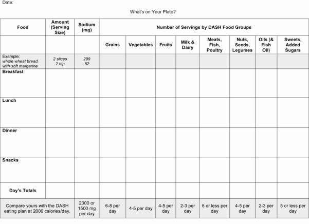 Daily Calorie Counter Spreadsheet Inside Food Log Template Printable Daily Calorie Counter Excel  Parttime Jobs