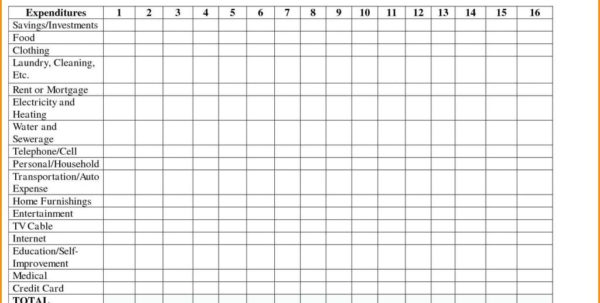 Daily Expense Spreadsheet Template Inside Freencome And Expense Spreadsheet Daily Expenses Template For Small