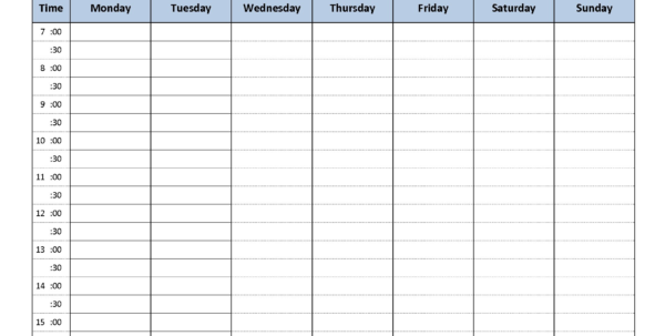 Daily Medication Schedule Spreadsheet Intended For Weekly Schedule Organizer  Rent.interpretomics.co